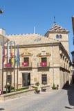 Conteggi di vecchio palazzo di Guadiana, Ubeda, Spagna Fotografie Stock