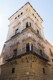 Conteggi di vecchio palazzo di Guadiana, Ubeda, Spagna Fotografia Stock