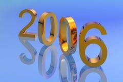 Conteggio di nuovo anno giù Fotografie Stock