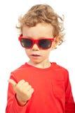 Conteggio moderno del bambino Fotografia Stock