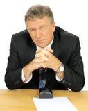 Contemplating Businessman Stock Images