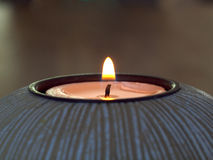 Contemplation Candle Royalty Free Stock Images