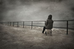 Contemplation Royalty Free Stock Images