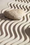 Contemplation for zen evolution Royalty Free Stock Image