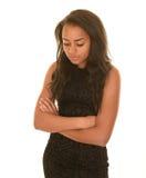 Contemplative teenage girl Royalty Free Stock Photos