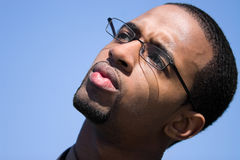 Contemplative Young Man Royalty Free Stock Photo