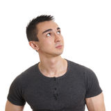 Contemplative young man Royalty Free Stock Photography