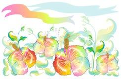 Contemporâneo do projeto da imaginação da natureza da flor da sapata Fotografia de Stock