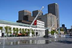 Contemporain De Montréal d'art de Musee Photographie stock
