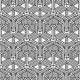 Contemporary abstract vector endless background, three-dimension Stock Photos