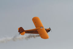 Contemporary air craft in Air Show Stock Photography