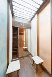 Contemporary apartment interior Stock Photos