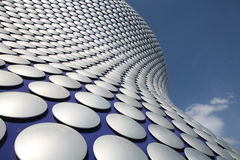 Contemporary Architecture. Exterior of shopping mall building, Birmingham, West Midlands Stock Photography