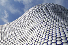 Contemporary Architecture. Exterior of shopping mall building, Birmingham, West Midlands Stock Image