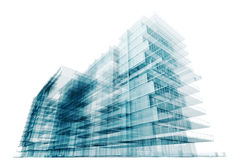 Contemporary architecture Royalty Free Stock Photo
