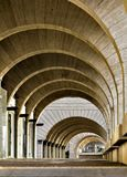 Contemporary Architecture: Archway Arcade Modern building,archit. Tel Aviv, Israel - APRIL 28, 2018: Contemporary Architecture: Archway Arcade Modern building Royalty Free Stock Image