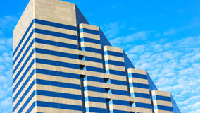 Contemporary architecture in Baltimore, Maryland. An office building on West Pratt Street in the downtown Baltimore Royalty Free Stock Photography