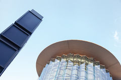 Contemporary architecture Royalty Free Stock Photos