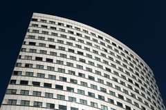 Contemporary architecture building in Warsaw Royalty Free Stock Photos