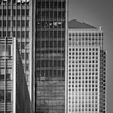 Contemporary architecture, Docklands, London Stock Image