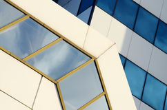 Contemporary architecture geometrical abstract background Stock Images