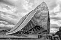 Contemporary architecture,Museum,City of Culture of Galicia, Cidade da cultura de Galicia, designed by Peter Eisenman, Santiago de. Compostela,Galicia, Europe Stock Photography