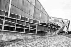 Contemporary architecture,Museum,City of Culture of Galicia, Cidade da cultura de Galicia, designed by Peter Eisenman, Santiago de. Compostela,Galicia, Europe Royalty Free Stock Photography
