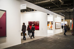 The contemporary art fair ARCO begins its 33rd edition with Finl Stock Photos