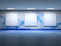 Free Contemporary Art Gallery Interior Stock Image - 11205651