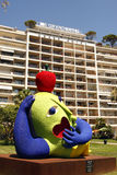 Contemporary art - Grand Hotel Cannes royalty free stock photos