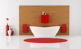 Contemporary bathroom Royalty Free Stock Photos