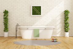 Contemporary bathroom Royalty Free Stock Photography