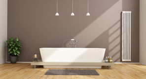 Contemporary bathroom Stock Photos