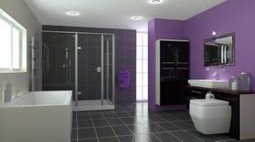 Contemporary Bathroom Interior Stock Photos