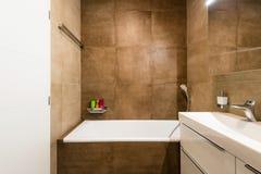 Contemporary bathroom interior Royalty Free Stock Photography