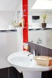 Contemporary bathroom interior Stock Photo
