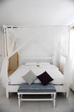 Contemporary bed Royalty Free Stock Images