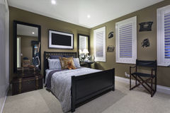 Contemporary Bedroom Stock Images