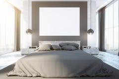 Contemporary bedroom interior Royalty Free Stock Photos