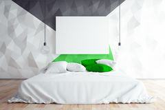 Contemporary bedroom Royalty Free Stock Photography