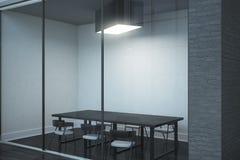 Contemporary boarding room Stock Photo