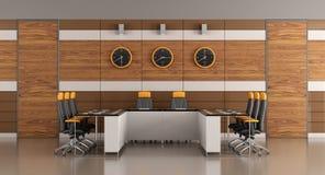 Contemporary boardroom Royalty Free Stock Photo