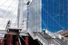 Contemporary bridge Stock Image
