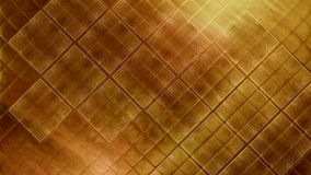 Contemporary bright gold tile glossy mosaic Earthenware material. Texture of fine ceramic tiles black and blue. Detail shot of gold mosaic tile structure as a Stock Photos