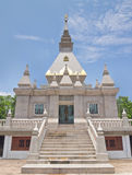Contemporary Buddhist pagoda in northern of Thailand Stock Photo