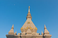 Contemporary Buddhist pagoda Royalty Free Stock Photo