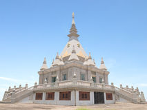 Contemporary Buddhist pagoda Stock Photo