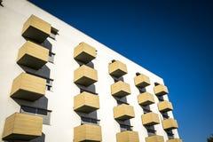 Contemporary building in Sant Cugat del Valles Royalty Free Stock Photos