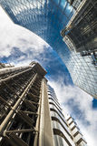 Contemporary buildings in London, UK Royalty Free Stock Photos