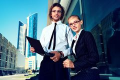 Contemporary business Stock Photo